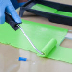 Glasspaint brush n roll 1