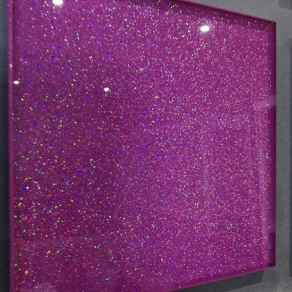 glasspaint effect glitter