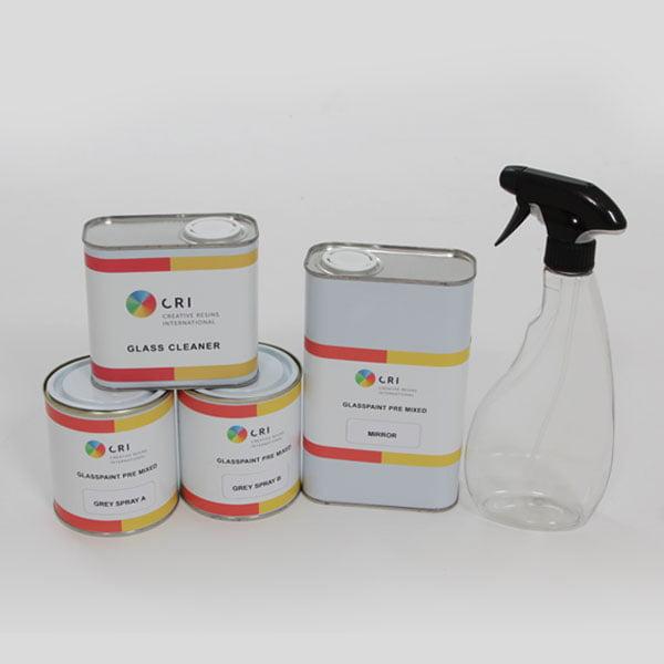glasspaint mirror kit