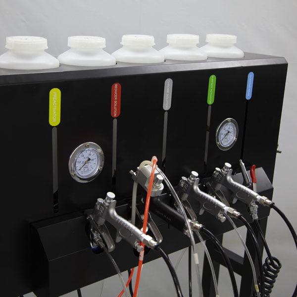 chrome spray station 1