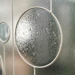 Stipple Infill Glass Spray Paint