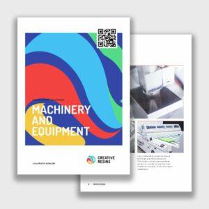 Machinery Brochure Icon